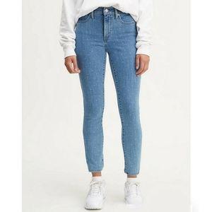 LEVI'S 311 Shaping Skinny Polka Dot Jeans size 26